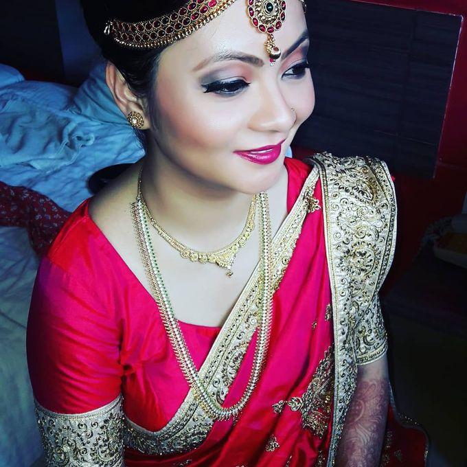 Bridal Makeup by Charites Professional Makeup - 001