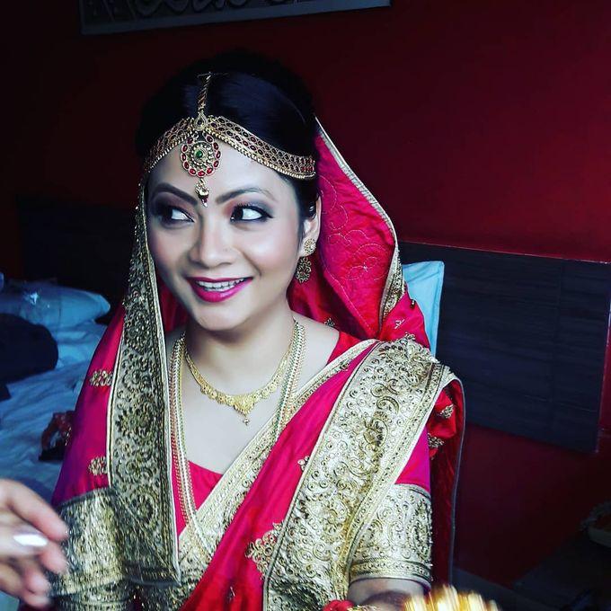 Bridal Makeup by Charites Professional Makeup - 002