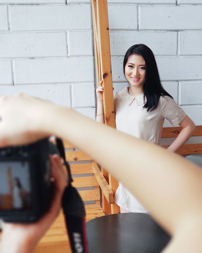 Photoshoot Makeup For Clothing Shop by Devina Martina Sulam Alis - 009