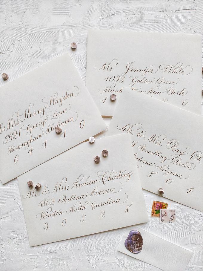 Wedding invitations by xuecalligraphy - 014