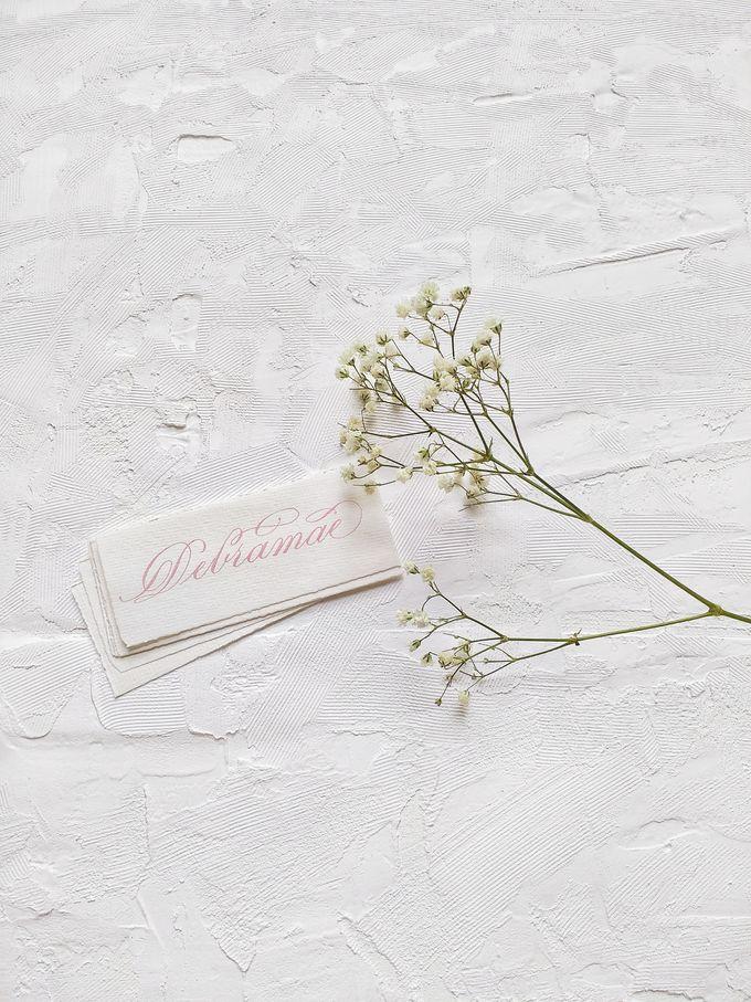 Wedding invitations by xuecalligraphy - 015