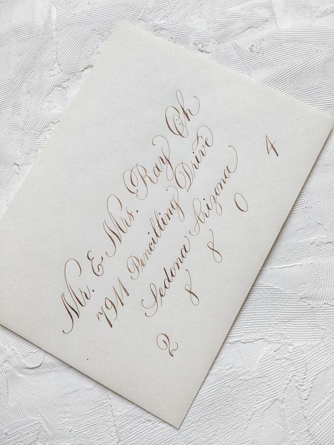 Wedding invitations by xuecalligraphy - 018