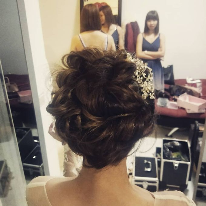 Bridal Make Up And Hairstyles by Amber Liu Make up and Hair  - 006