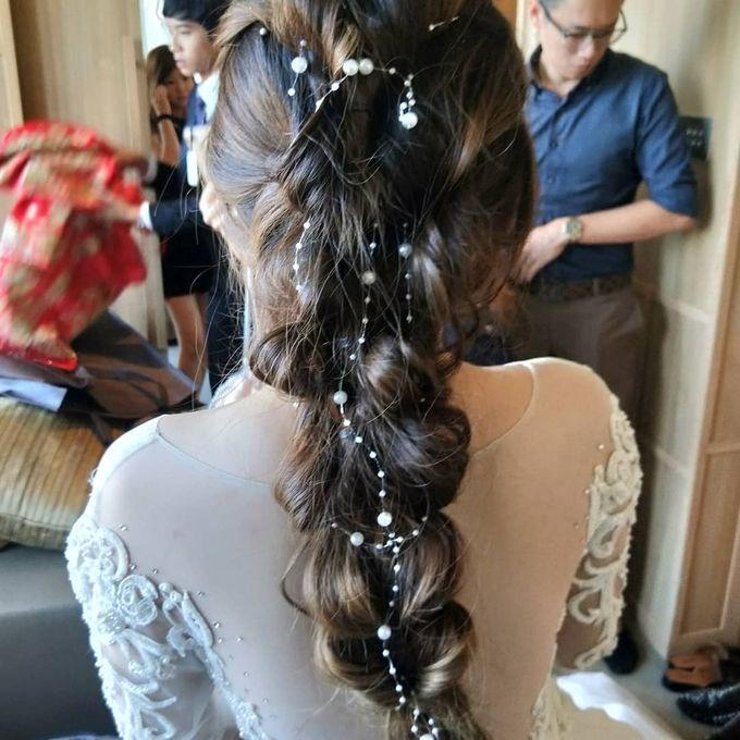 Bridal Make Up And Hairstyles by Amber Liu Make up and Hair  - 009