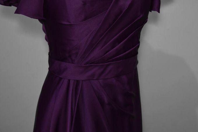 Aubergine Evening Dress by Belle en Blanc Bespoke Bridal - 001