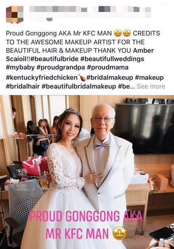 Bridal Make Up And Hairstyles by Amber Liu Make up and Hair  - 010