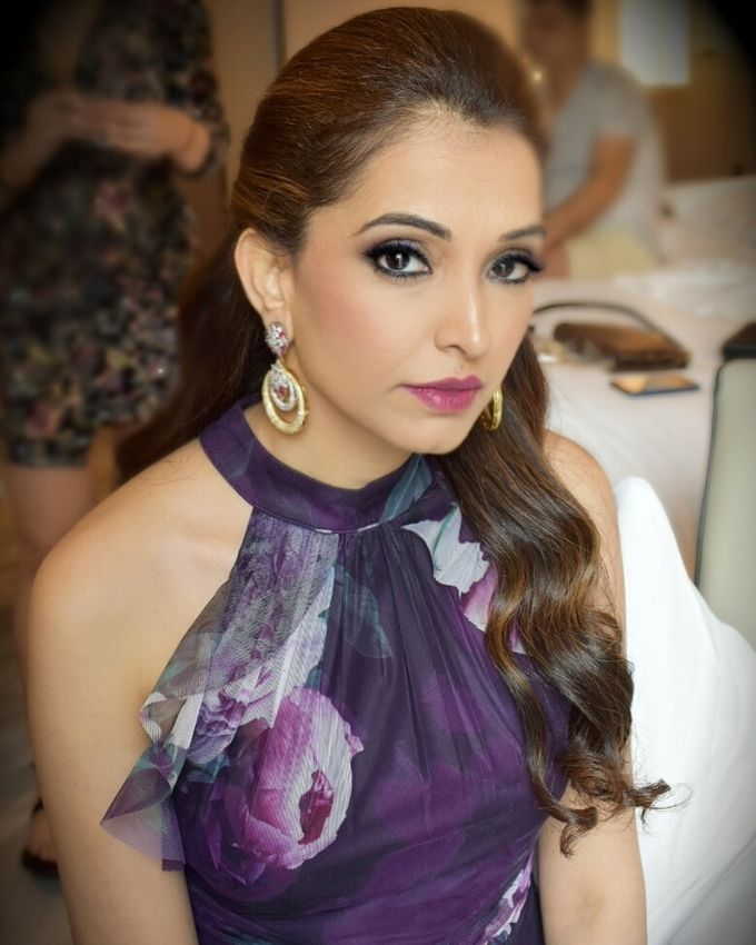 Party Makeup by Makeup by Lavina - 016