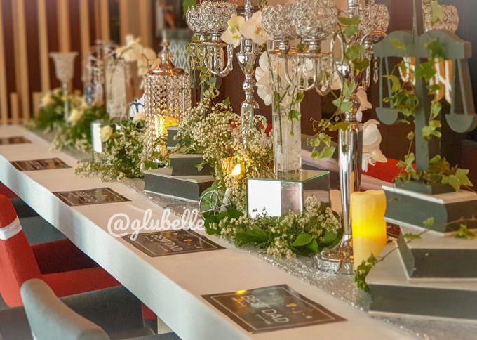 Fresh Flowers Table Decor by GLUBELLE - 002