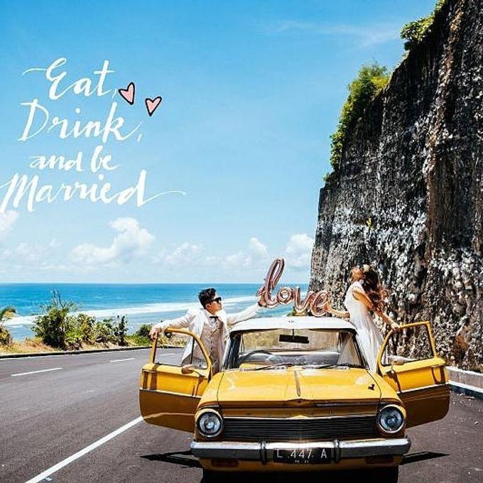 Yellow Classic Car by Bali Classic Community - 014