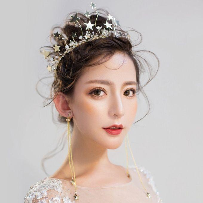 Fiora Wedding Crown Headpiece by Fairytale Undercover - 001
