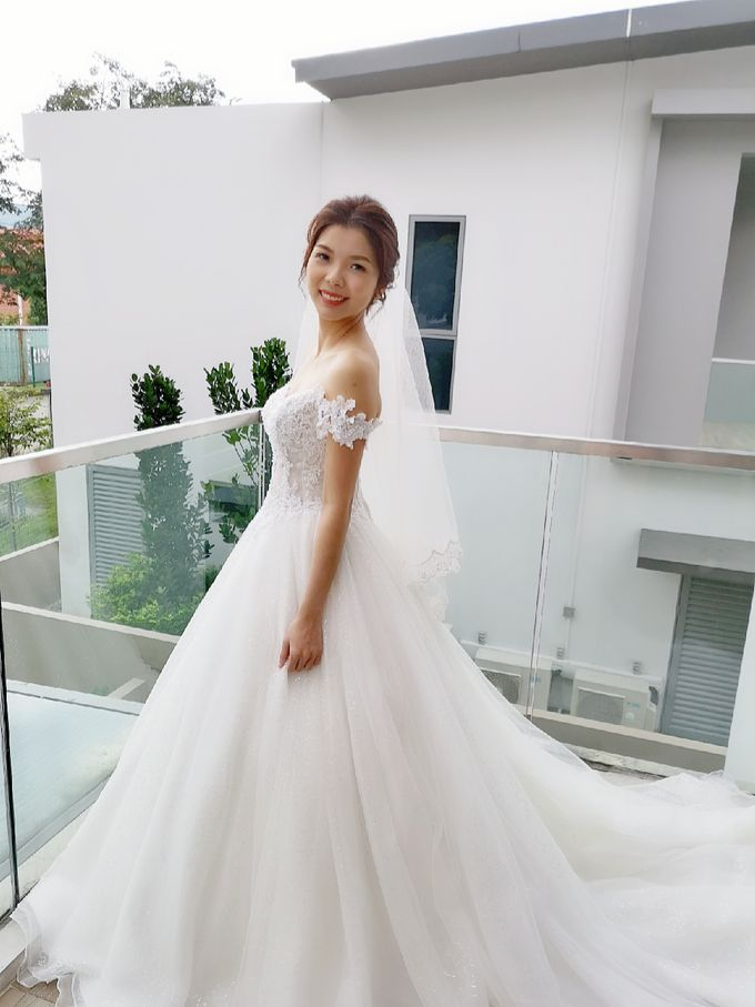 Bride Charlotte ❤️ by Shino Makeup & Hairstyling - 001