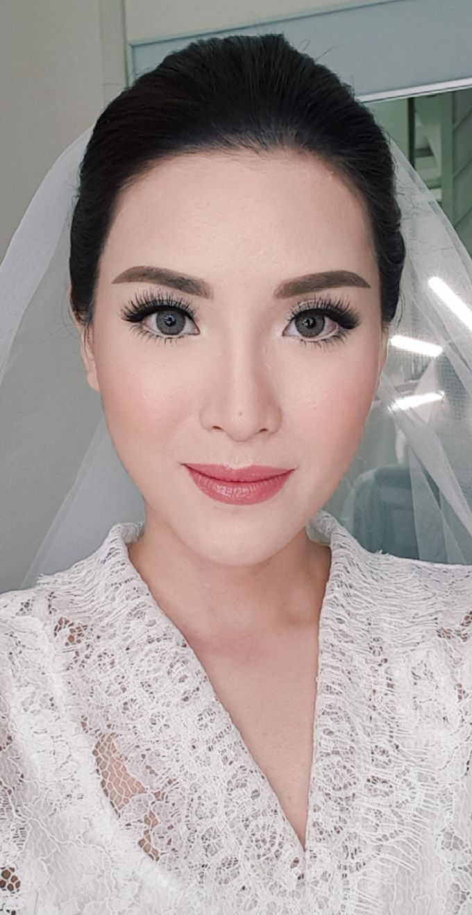 Wedding Makeup by Evlynmakeupartist - 001