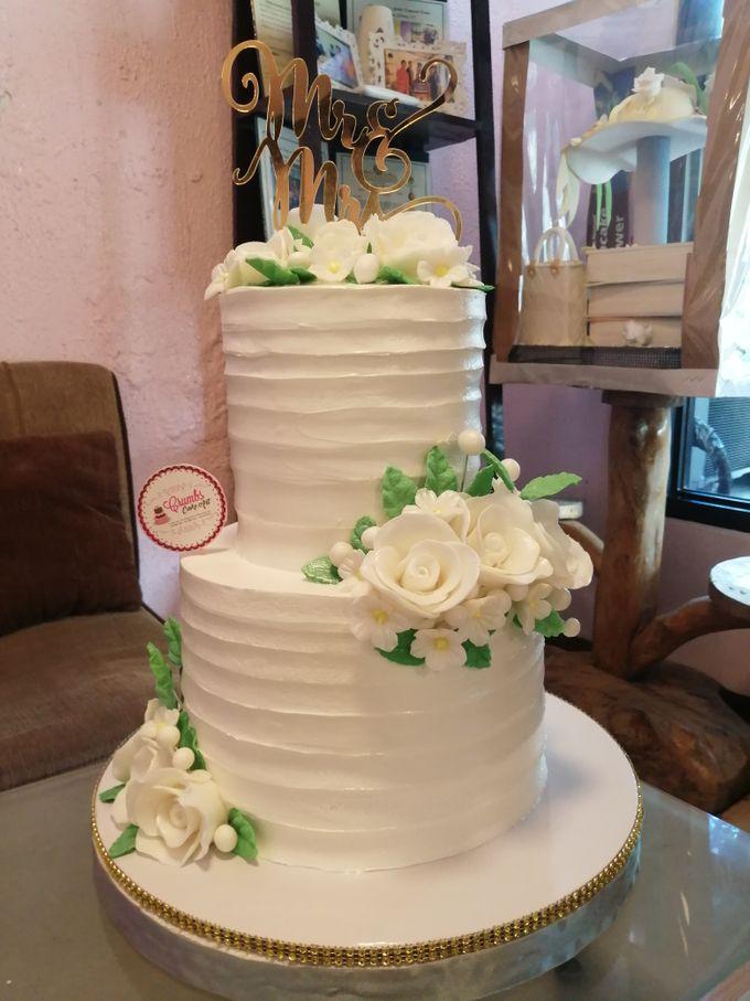 Customized Wedding Naked Cake Rustic Themed Cake by Crumbs Cake Art Bakeshop - 012