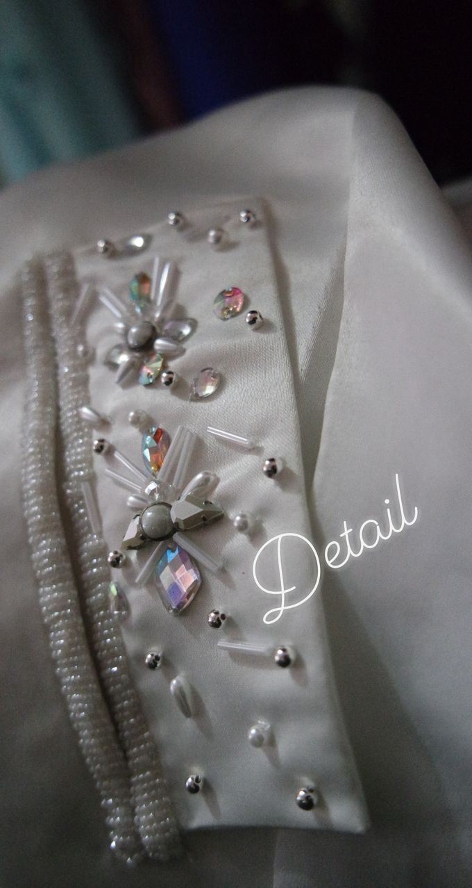Details Payet Dan embroidery by Leny Rafael Bride - 008