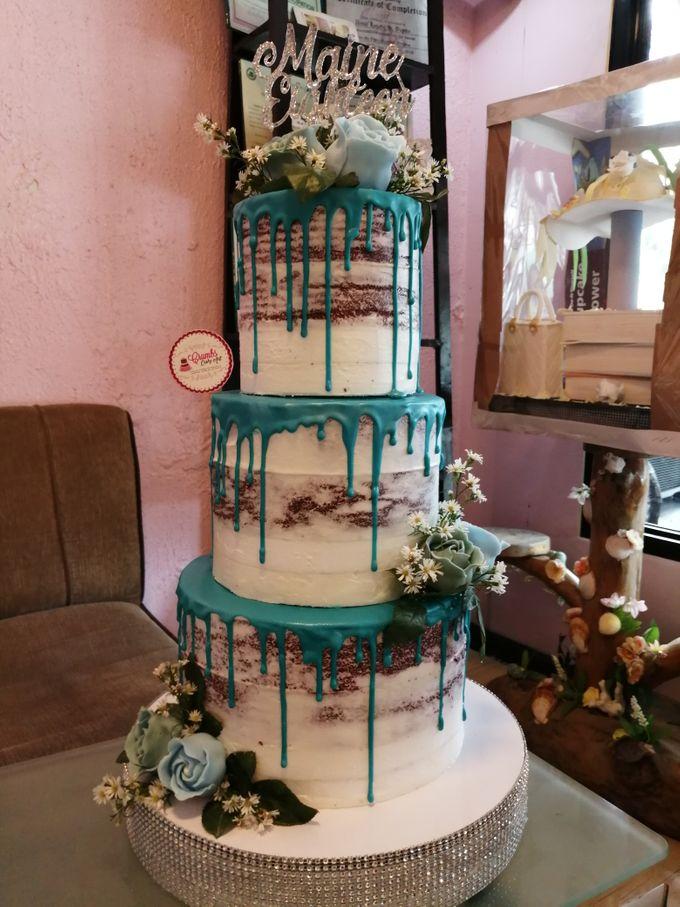 Customized Wedding Naked Cake Rustic Themed Cake by Crumbs Cake Art Bakeshop - 003