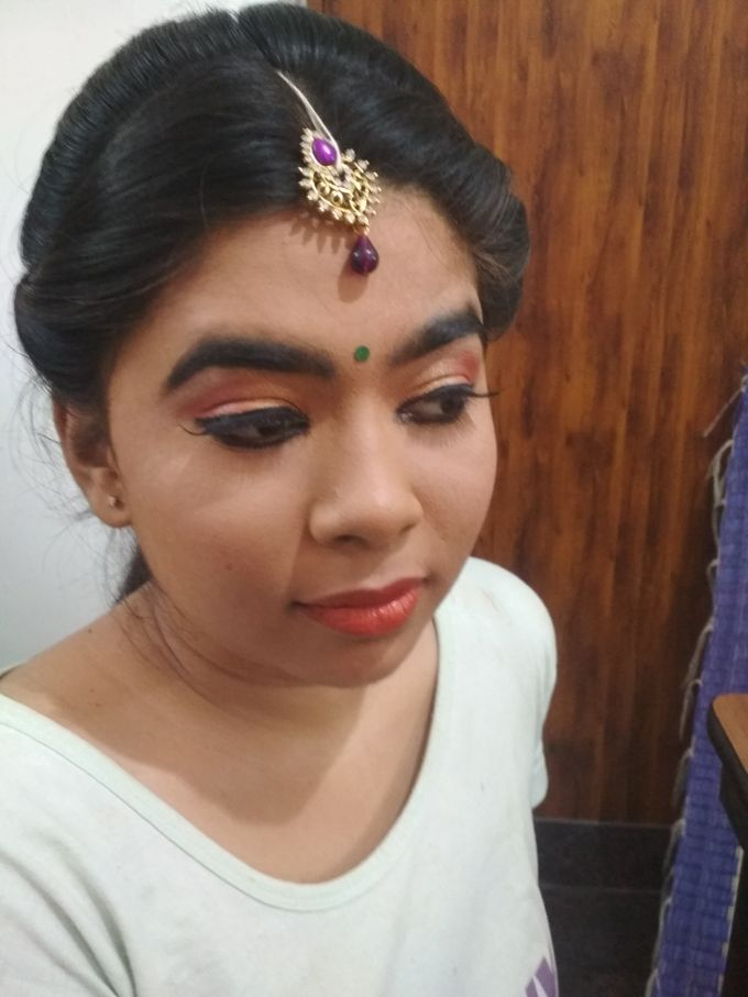 Reception Look Light Makeup by Anjalisri Makeover - 009