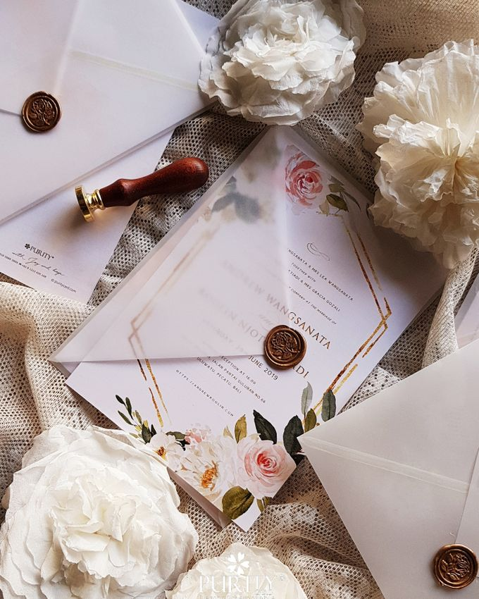 Sweet Rose Invitation by PurityCard - 001