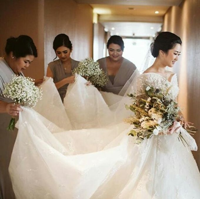 Dried Bouquet Wedding by Magnolia Dried Flower - 006