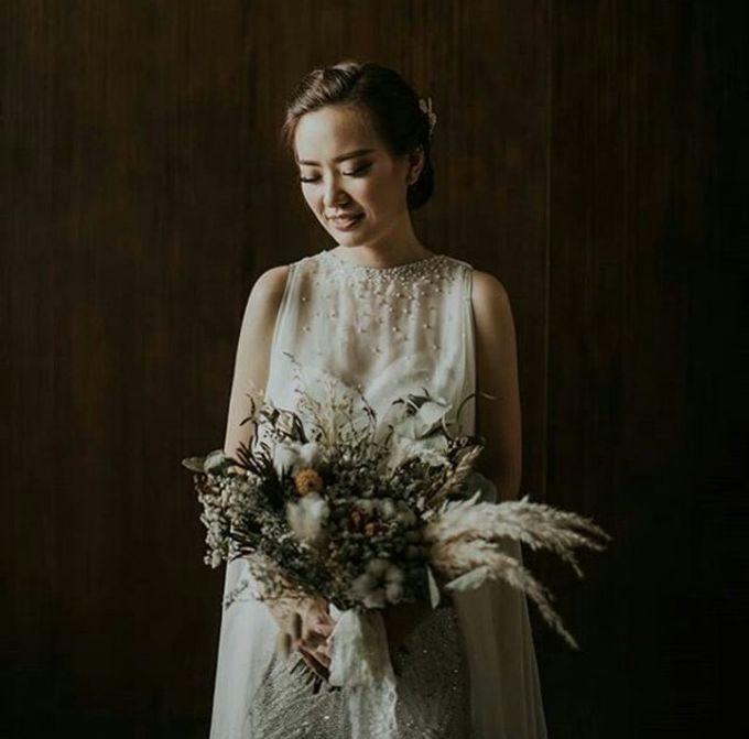 Dried Bouquet Wedding by Magnolia Dried Flower - 003