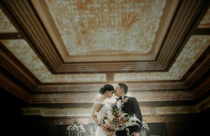 Dried Bouquet Wedding by Magnolia Dried Flower - 005