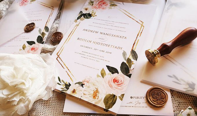 Sweet Rose Invitation by PurityCard - 002