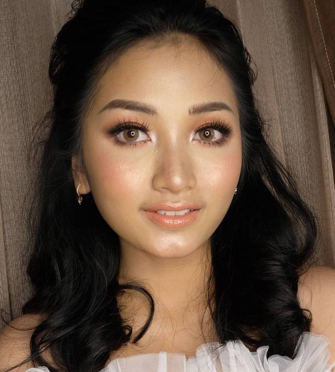 Korean Wedding Makeup Look - Ms. ABIGAEL by Nathalia Tjan Makeup - 001