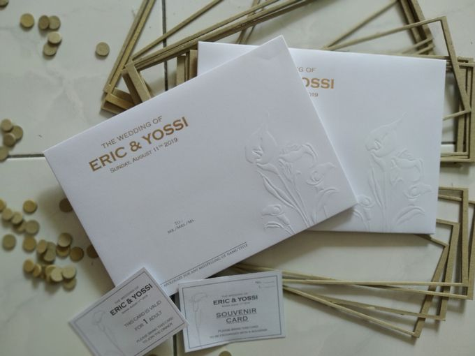 Eric & Yossi Wedding Invitation by JW Marriott Hotel Surabaya - 004