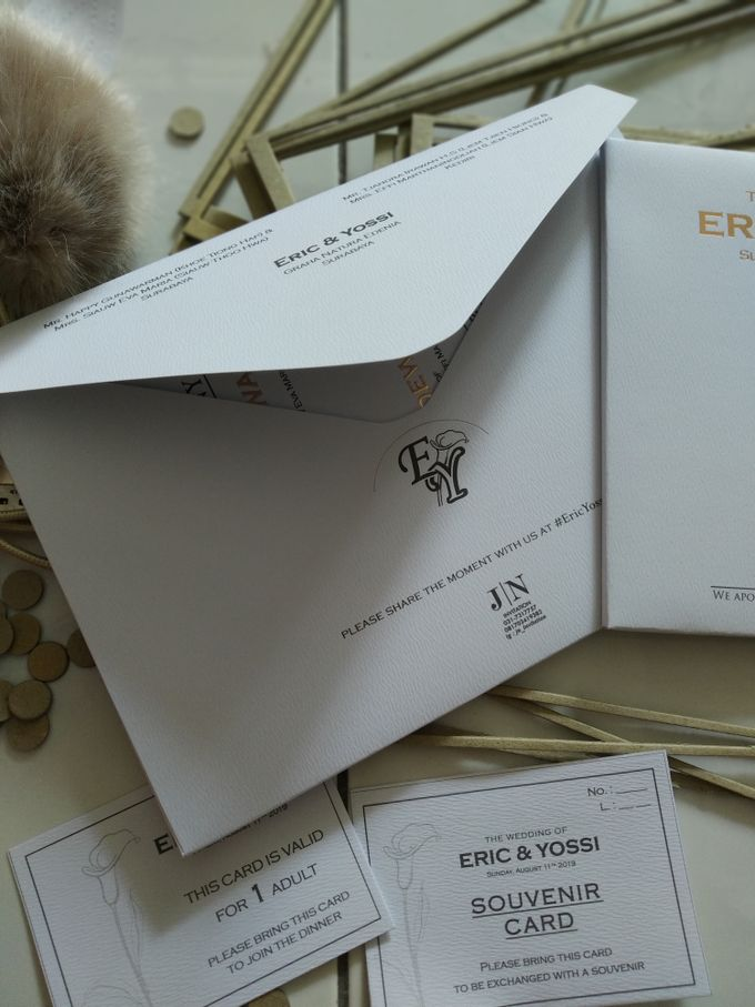 Eric & Yossi Wedding Invitation by JN Invitation - 007