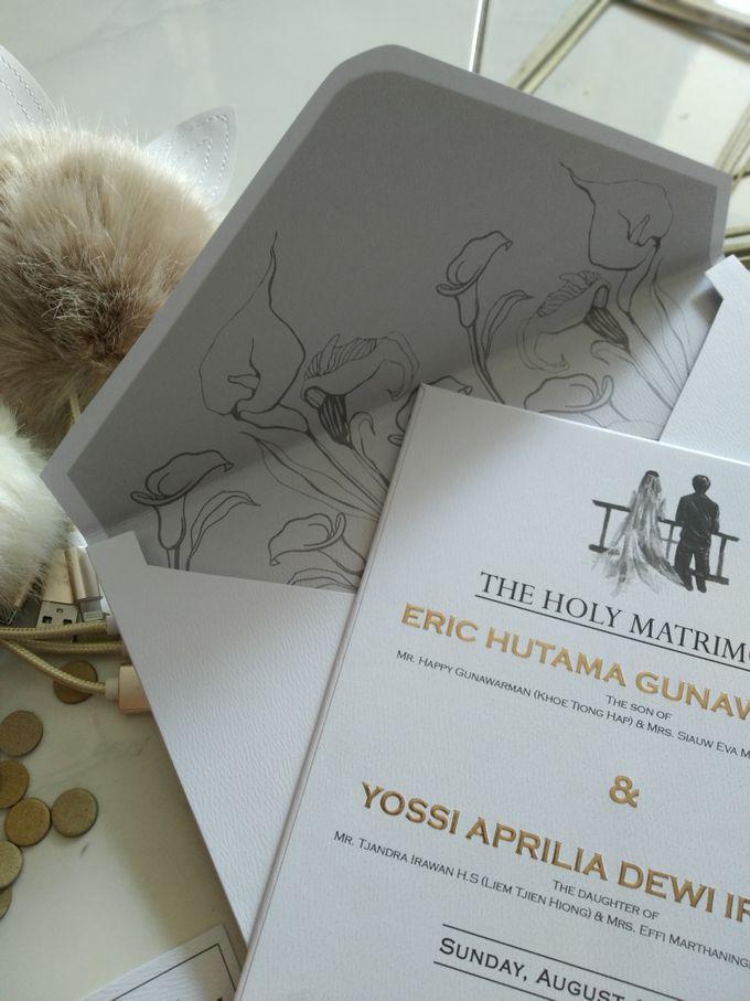 Eric & Yossi Wedding Invitation by JW Marriott Hotel Surabaya - 006