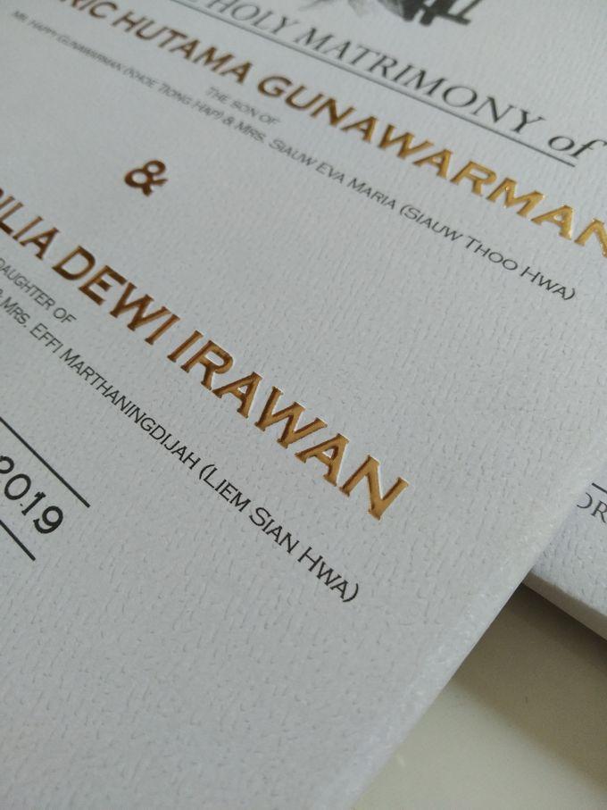 Eric & Yossi Wedding Invitation by JW Marriott Hotel Surabaya - 005