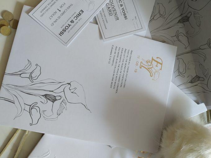 Eric & Yossi Wedding Invitation by JW Marriott Hotel Surabaya - 008