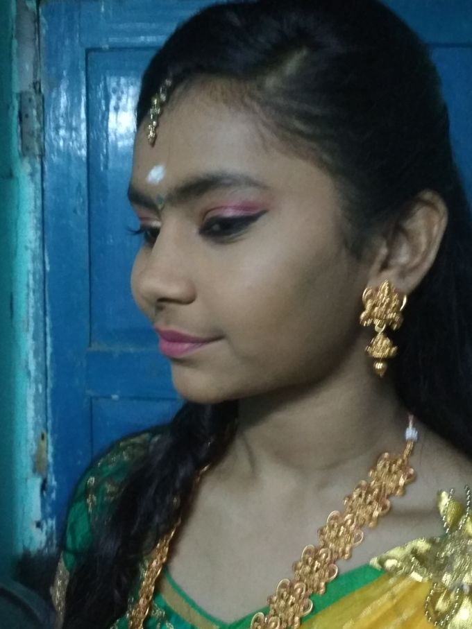 Reception Look Light Makeup by Anjalisri Makeover - 012