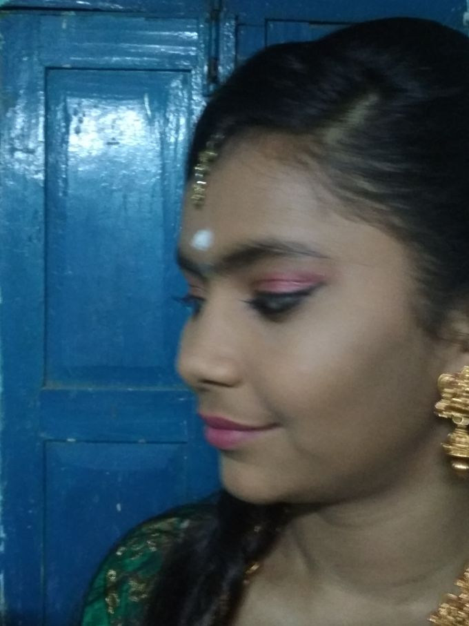 Reception Look Light Makeup by Anjalisri Makeover - 008