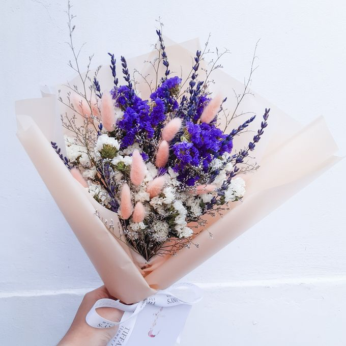Dried Flower Bouquet by Tiffany's Flower Room - 005