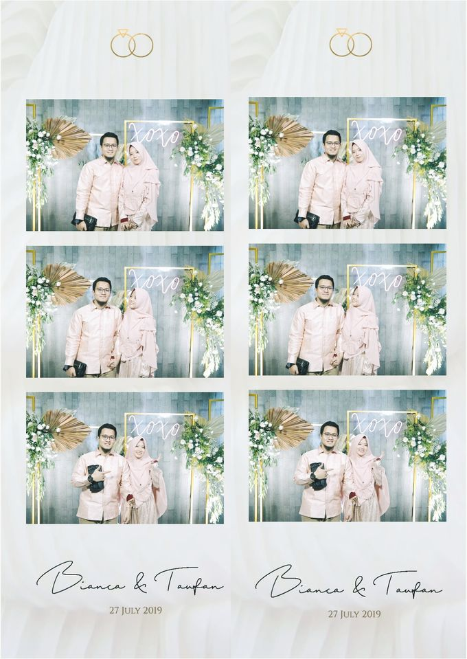 Bianca & Taufan Photostrip by Austin Photobooth - 001