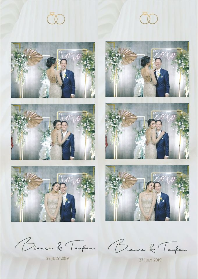 Bianca & Taufan Photostrip by Austin Photobooth - 002