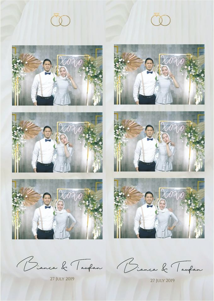 Bianca & Taufan Photostrip by Austin Photobooth - 003