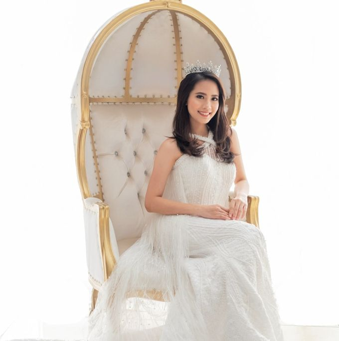 Gown & kebaya akad by Rosegold - 005