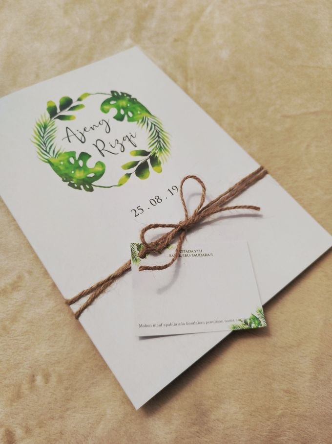 Soft Cover Folded Rustic Paper by Keeano Project - 002