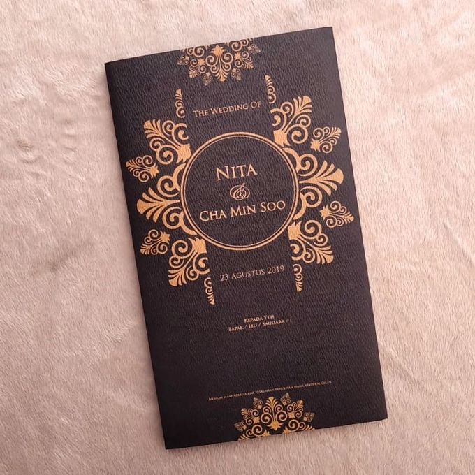 NITA & CHA MIN SOO - Soft Cover Amplop Custom by Keeano Project - 001