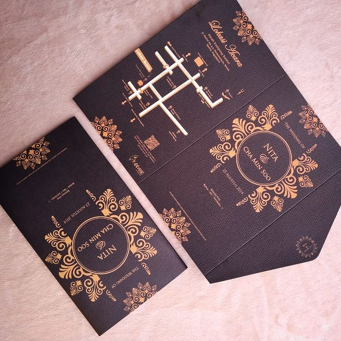 NITA & CHA MIN SOO - Soft Cover Amplop Custom by Keeano Project - 003