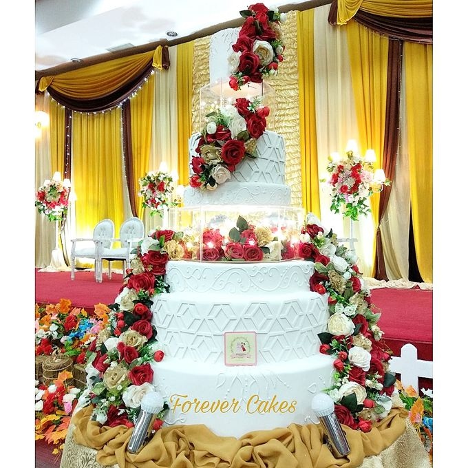 7 Tiers Wedding Cakes by FOREVER CAKE - 001