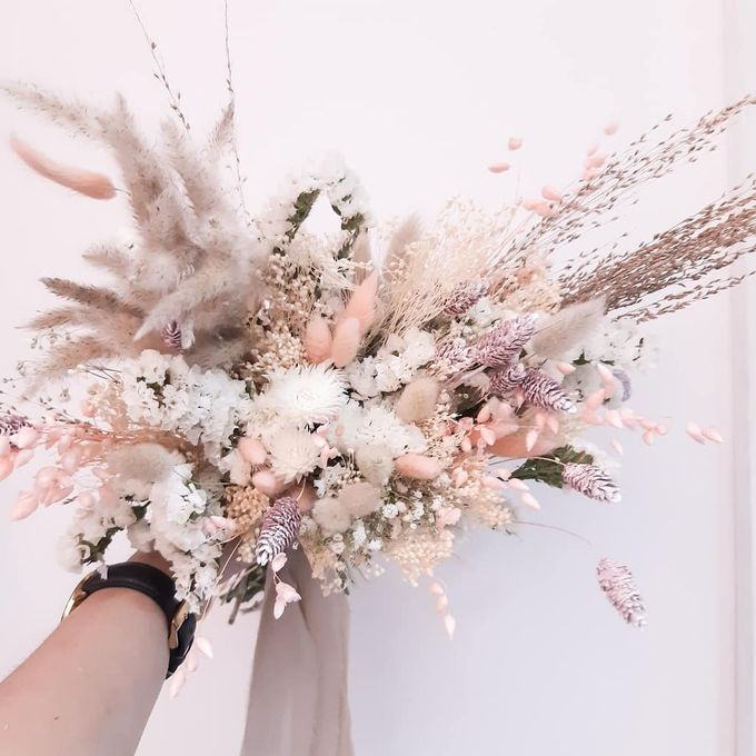 Dried Flower Bouquet by Tiffany's Flower Room - 009