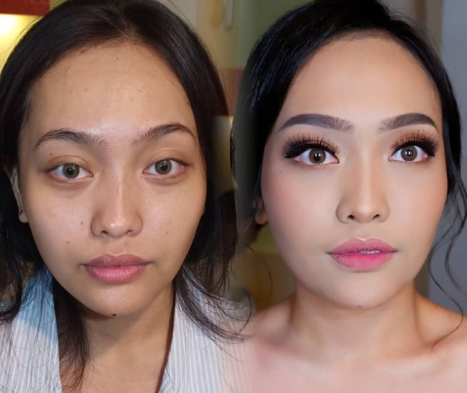 Natural Wedding Makeup 2019 by AngeLin Bridal - 018