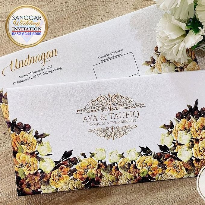 AYA & TAUFIQ (Neat Flory Luxury) by Sanggar Undangan - 009
