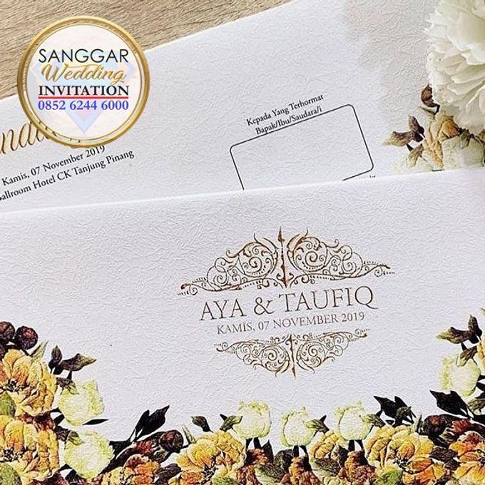 AYA & TAUFIQ (Neat Flory Luxury) by Sanggar Undangan - 010