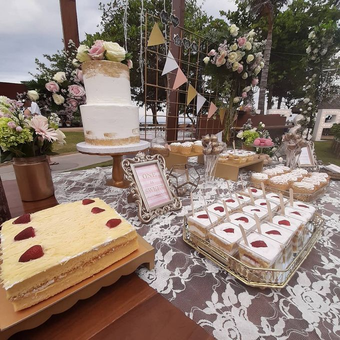 Wedding Cake & Sweet Corner by Moia Cake - 007