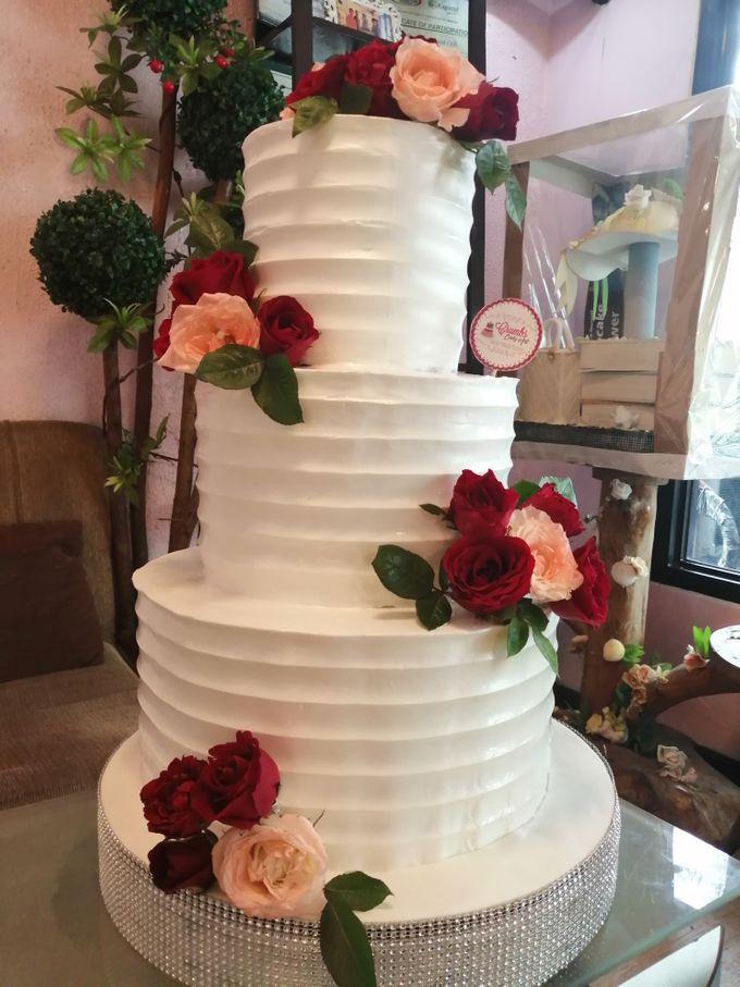 Customized Wedding Naked Cake Rustic Themed Cake by Crumbs Cake Art Bakeshop - 011