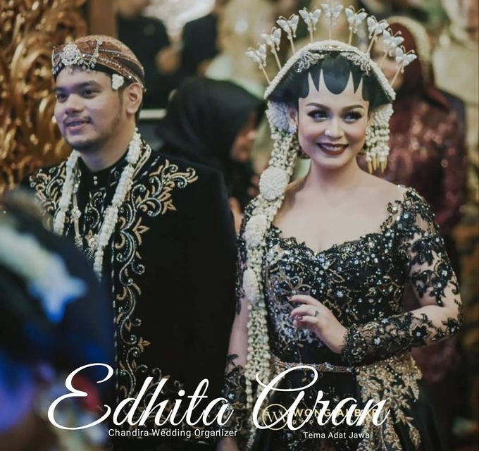Edhita Aran Resepsi by Chandira Wedding Organizer - 006