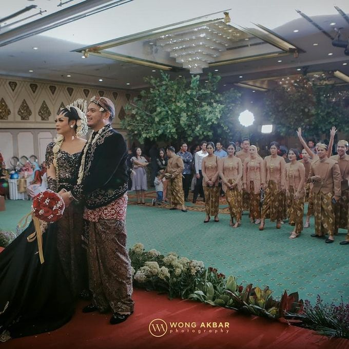 Edhita Aran Resepsi by Chandira Wedding Organizer - 004